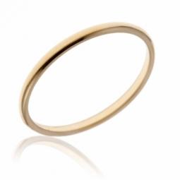 Alliance en or jaune, demi-jonc 1.5mm