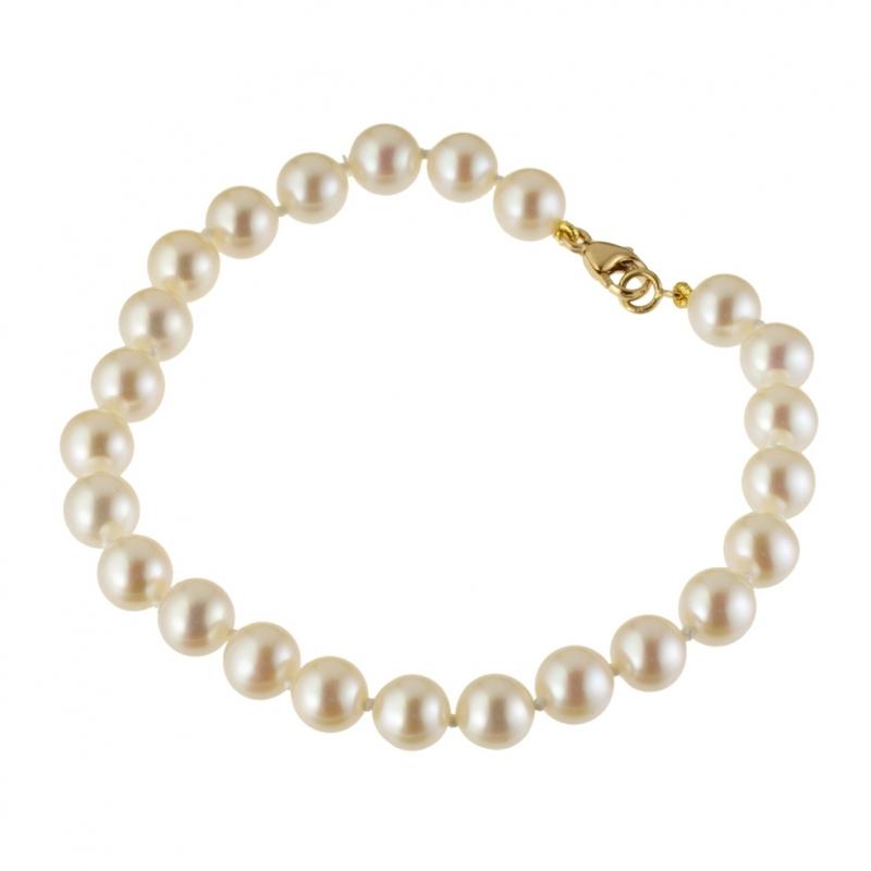 bracelet perle de culture manege a bijoux