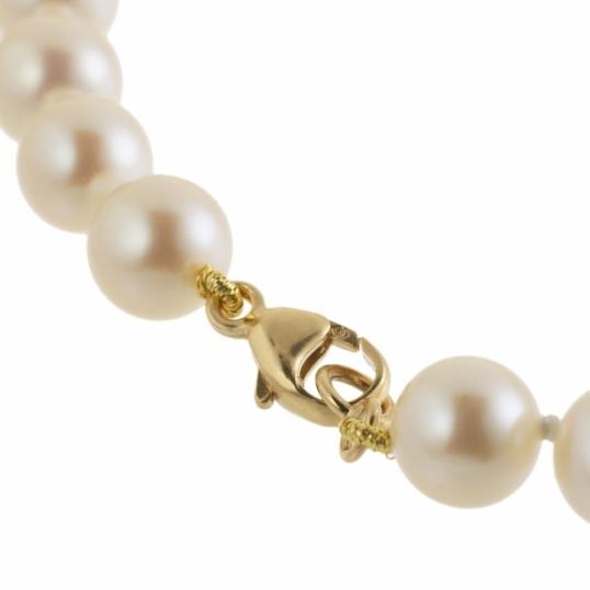 spécial chaussure prix plancher nouveaux styles Achat Bracelet en or jaune et perles de culture 6/6.5 ...