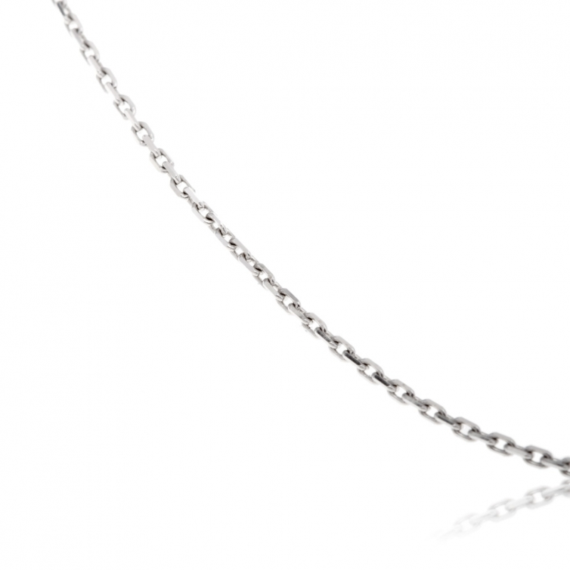 collier homme or gris
