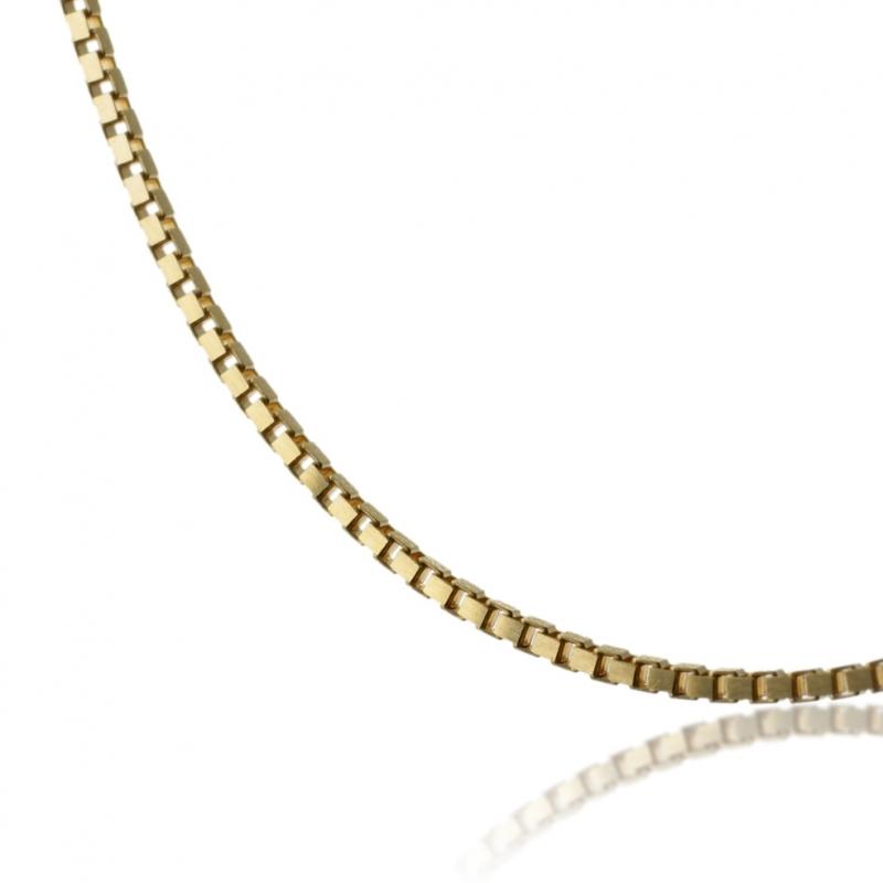 vente chaude en ligne qualité-supérieure capture Achat Chaine en or jaune, maille vénitienne diamantée ...