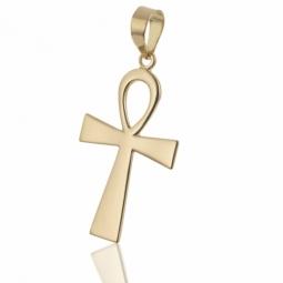 Croix en or jaune, Egyptienne