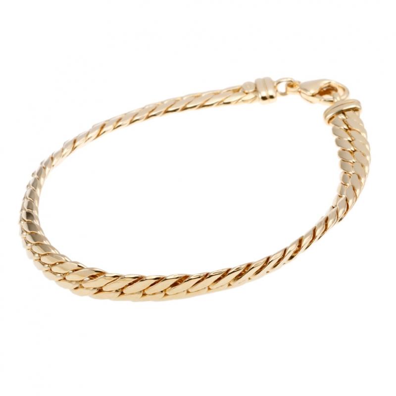 liquidation à chaud comment trouver collection entière Achat Bracelet en or jaune, maille anglaise, 5,4 mm ...