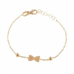 Bracelet en or jaune, noeud