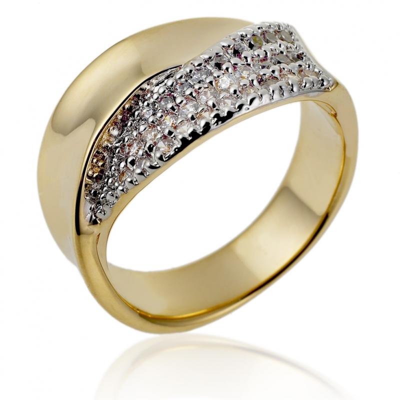bague plaque or le manege a bijoux