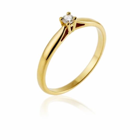 achat bague de fian ailles femme or jaune g diamant ct le man ge bijoux. Black Bedroom Furniture Sets. Home Design Ideas