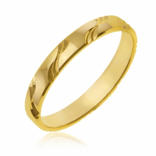 achat alliance femme or jaune g le man ge bijoux. Black Bedroom Furniture Sets. Home Design Ideas