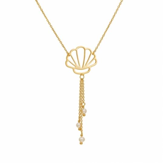Achat Collier Femme Or Jaune 1 28 G Perle De Culture 0 18 Ct Le