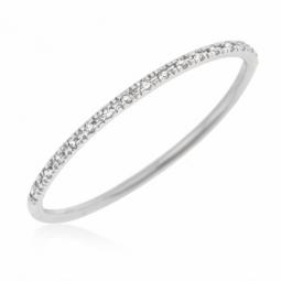 Bague or gris et diamants