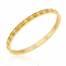 Alliance en or jaune, fantaisie 1.5 mm