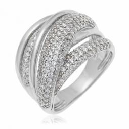 Achat de Bague femme en diamant, bague argent et or - Le Manège à ... 2d9743910fce