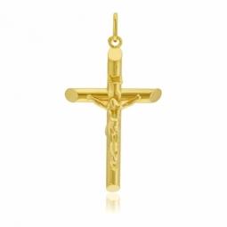 Croix en or jaune, Christ