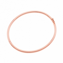 Bracelet jonc en or rose