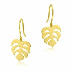 Boucles d'oreilles crochet en or jaune