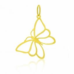 Pendentif en or jaune, papillon
