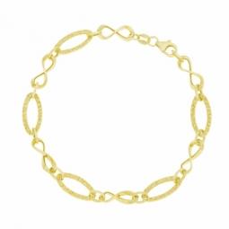Bracelet en or jaune