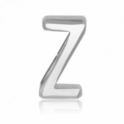 Charm en acier, lettre Z