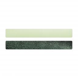 Simili cuir vert-pailleté pour bracelet jonc Méli Versa 20mm