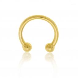 Boucle d'oreille en or jaune pour hélix