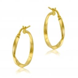 Créoles en or jaune