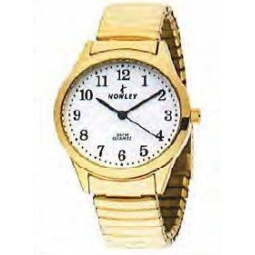 Montre femme,boîte étal doré, bracelet acier doré et verre minéral