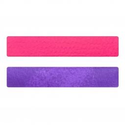 Simili cuir rose fluo-violet pour bracelet jonc Méli Versa 30mm