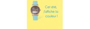 Sélection montres colorées